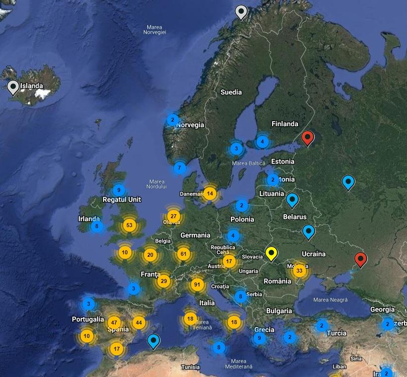 Secţii de votare în Europa