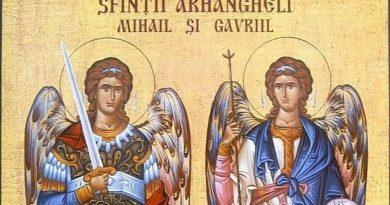 Sfinţii Arhangheli Mihail şi Gavriil: Ce sărbătorim în 8 noiembrie?