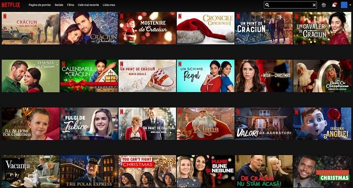 Filme de Crăciun pe Netflix