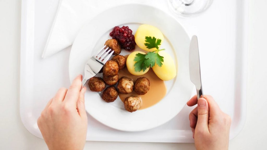 Chifteluţe suedeze Köttbullar